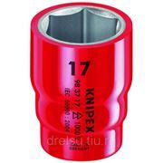 Головки торцевые Knipex для крепежа с 6-гр. профилем 983713 фото