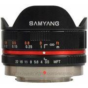 Samyang 7.5mm F/3.5 UMC Fish-eye для Panasonic 4/3 фото
