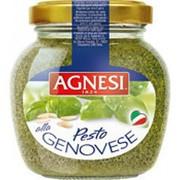 Соус Песто AGNESI по-Генуэзски, 185г фото