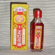 Красное цветочное масло «WING LONG» фото