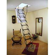 Металлическая огнестойкая лестница Fakro LSF фото