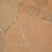Песчаник красный для облицовки, толщина 1,5 см фото