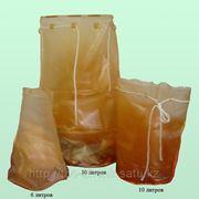 Пакет пластиковый № 30 исп. 3 (30 литров)для твердых радиоактивных, высокотоксичных отходов.