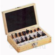 Фрезы Metabo Набор твёрдосплавных фрез в деревянной коробке 15шт 631039000 фото