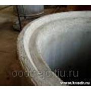 Кольцо колодезное КСЗ 10-9 с замком фото