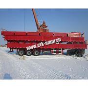 Полуприцеп контейнеровоз г/п 60т. 3 оси фото