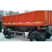 Самосвальный прицеп МАЗ 856100-014 (2 оси, 11 куб, 16 тонн)