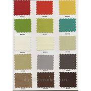 Цветовая палитра ткани. фото