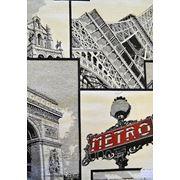 Гобелен портьерный - Париж фото