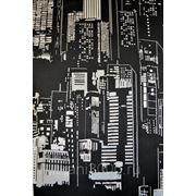 Гобелен портьерный - Ночной город фото