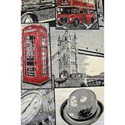 Гобелен портьерный - Лондон фото