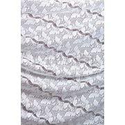 Ткани для штор. Кружево, цвет: белый