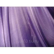 Ткань Вуаль фиолетовая фото