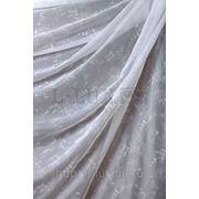 Ткани для штор. Вуаль, цвет: белый