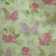 Ткань портьерная Бабочки фото