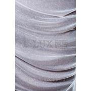 Ткани для штор. Вуаль мрамор, цвет: молочный фото