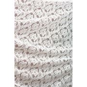 Ткани для штор. Кружево, цвет: молочный фото