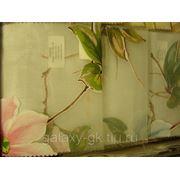 Тюль с крупными цветами фото