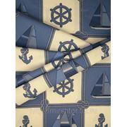 Ткань для штор морская тематика Goleta Испания