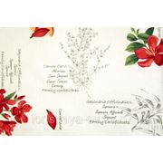 Портьерная ткань для штор Mediterraneo Seed 01. Сатин фото