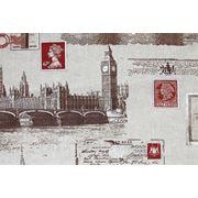 Портьерная ткань для штор Java Big Ben. Хлопок фото