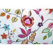 Портьерная ткань для штор Mediterraneo Annapurna. Сатин фото