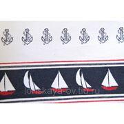 Портьерная ткань для штор Campagne Nautic A 02. Гобелен фото