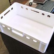 №4 Ящик пластмассовый 600*400*200, вес 2 кг фото