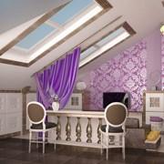 Дизайн интерьера квартиры в мансардном этаже фото
