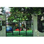 """Кованые ворота """"Бергамо"""" фото"""
