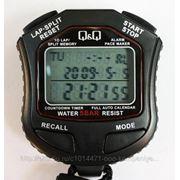 Секундомер электронный q&q hs-45 (10 замеров + таймер) фото