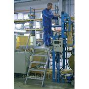 Лестницы-трапы Krause Переход из алюминия угол наклона 45° количество ступеней 9,ширина ступеней 1000 мм 826480