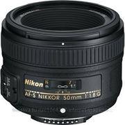 Объектив Nikon 50mm f/1.8G AF-S Nikkor фото