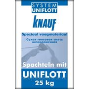 Кнауф Унифлот (25кг) шпаклевка гипсовая высокопрочная фото