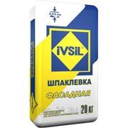 Шпатлевка IVSIL Фасадная 20 кг. фото