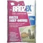Brozex Гипер Финиш Гипсовая шпаклёвочная смесь фото
