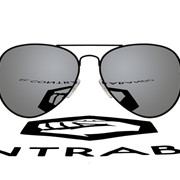 Очки Mirrored lenses and black framed Aviator RB фото