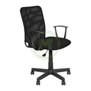 Офисное кресло AV 220 PL ткань/сетка черная фото