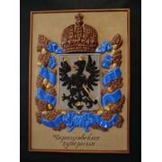 Малая коллекция гербов губерний Российской Империи, 12 штук фото
