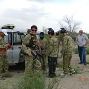 Пейнтбол в Казахстане фото