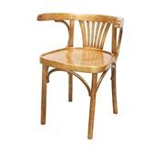 Деревянное венское кресло Марио с жестким сидением фото
