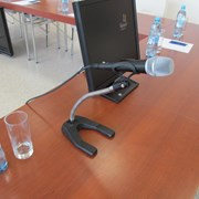 Аренда (прокат) Настольная микрофонная стойка фото