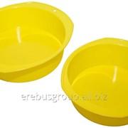 Силиконовая форма для выпечки малая диаметр 220 мм, высота 70 мм. фото