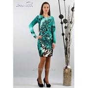 Платье 1615 Зеленый цвет фото