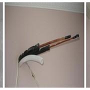 Монтаж кондиционера в два этапа фото