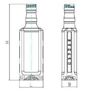 Бутылки стеклянные водочные, Ровенская обл. фото