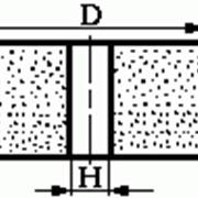 Круги из кубического нитрида бора (КНБ) на органической связке формы А8 (плоские, прямого профиля, без корпуса) фото