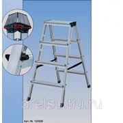 Лестницы-стремянки алюминиевые полупрофессиональные Krause ROLLY синяя 130082 фото
