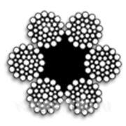 Канат стальной ГОСТ 7668-80 оцинкованный фото
