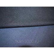 Пальтовая ткань двухсторонняя светло - темно синяя фото